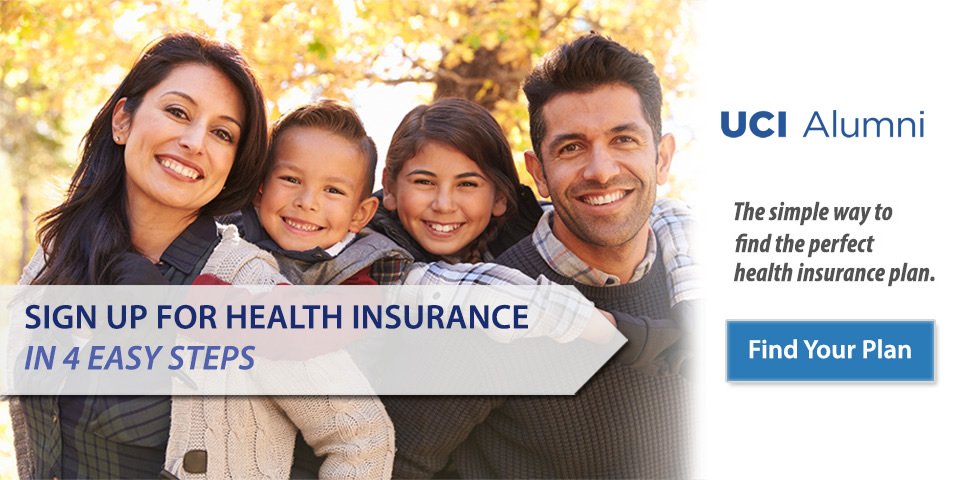 Simplified, worry-free life and health insurance for UCI Alumni