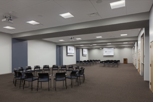Picture of Conference Room in Newkirk Alumni Center